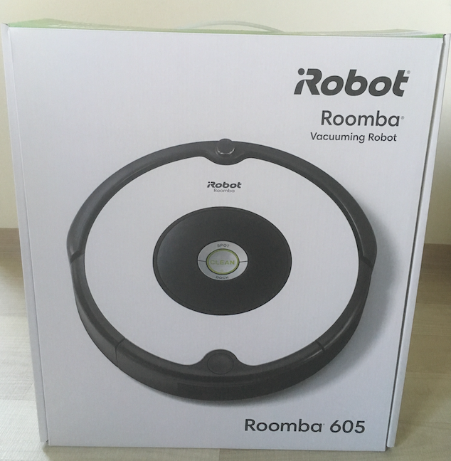 Cutia lui iRobot Roomba 605