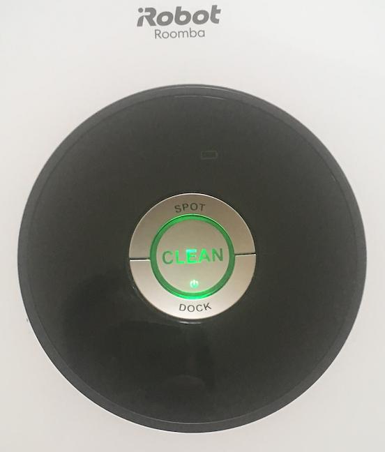 Butoanele de comandă pentru Roomba 605