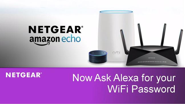 Unele routere Netgear au Amazon Alexa Skills