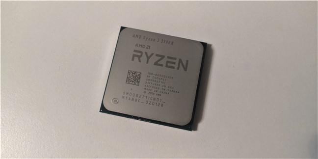 Procesorul AMD Ryzen 3 3300X