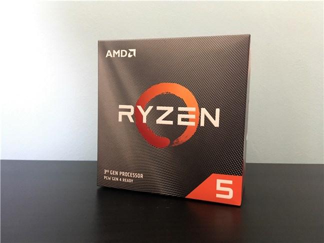 Ambalajul lui AMD Ryzen 5 3600