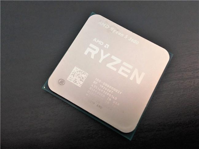 Procesorul AMD Ryzen 5 3600