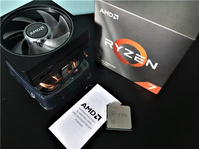 AMD Ryzen 7 3700X - Conținutul cutiei