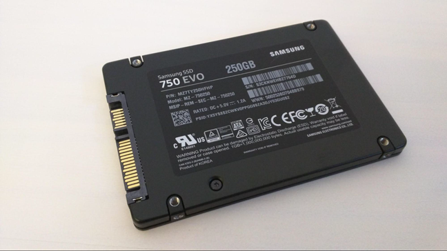 Samsung 750 EVO