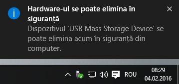 Windows, scoate, in siguranta, dispozitive, externe, stick, memorie, hard disk
