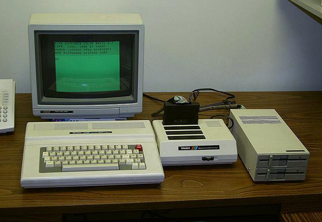 Calculatoarele vechi foloseau monitoare CRT ce erau afectate de efectul burn-in