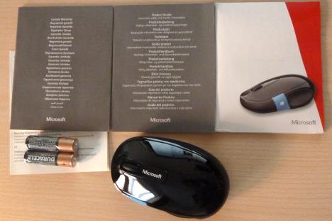 Microsoft, Sculpt Comfort, Mouse, review, recenzie