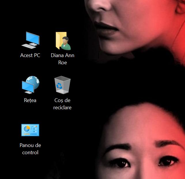 Scurtăturile standard de desktop din Windows 10