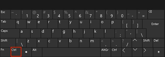 Folosește tasta Ctrl pentru a include elemente noi în selecția ta