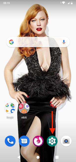 Folosește pictograma din aplicațiile favorite pentru a accesa aplicația