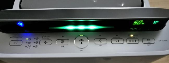 Indicatorii vizuali de pe Sharp UA-HD60E-L