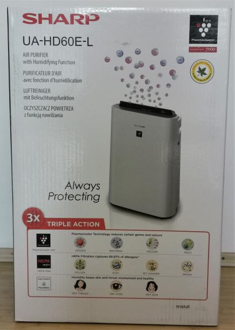 Cutia în care vine Sharp UA-HD60E-L