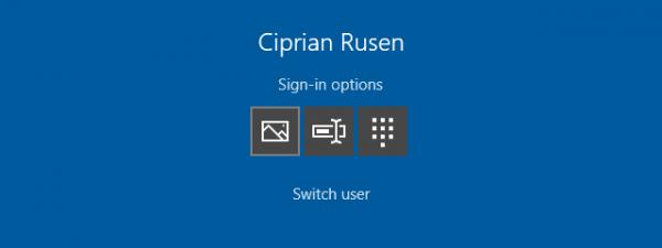 Autentificare Windows 10