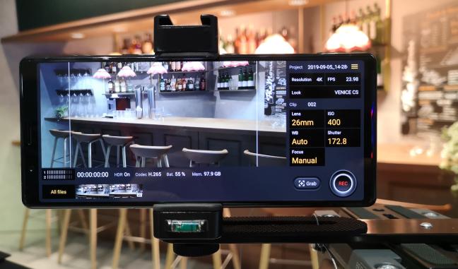Funcțiile pentru filmări avansate de pe Sony Xperia 5