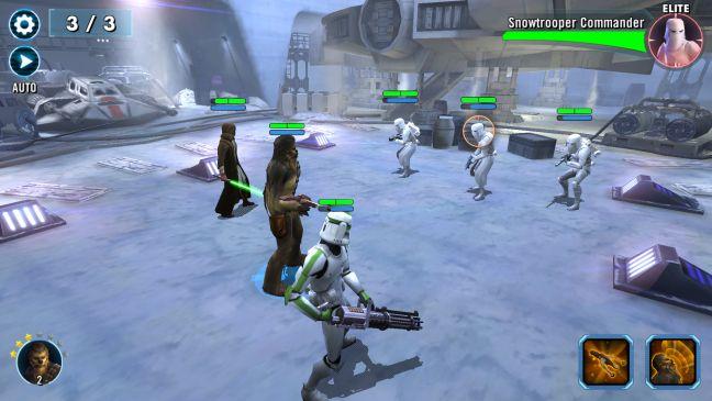 Star Wars: Galaxy of Heroes, Android, joc, gratuit, smartphone, tableta, review