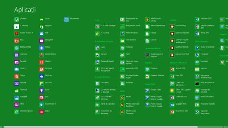 Windows 8, ecranul Start