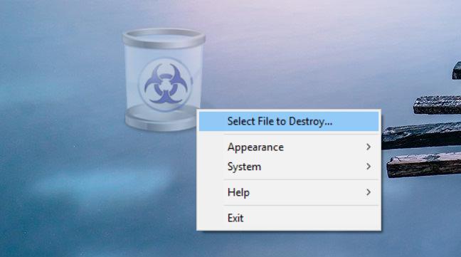 aplicatii, Windows, stergere fisiere
