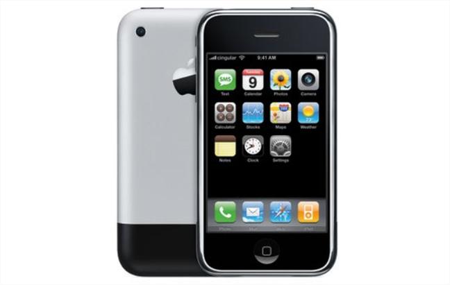 Primul iPhone (din 2007): folosea Corning Gorilla Glass