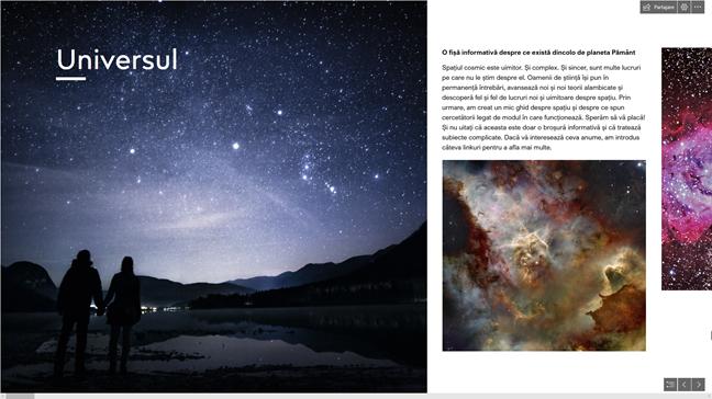 Exemplu de Sway - Universul