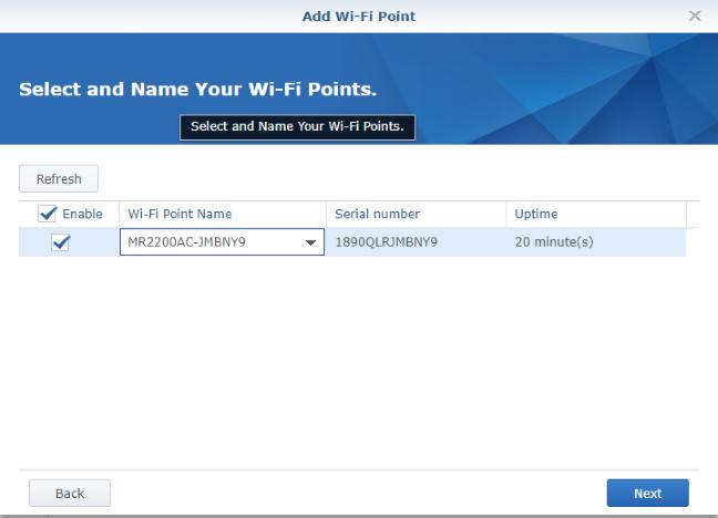 Adăugarea unei stații Synology MR2200ac în sistemul mesh WiFi