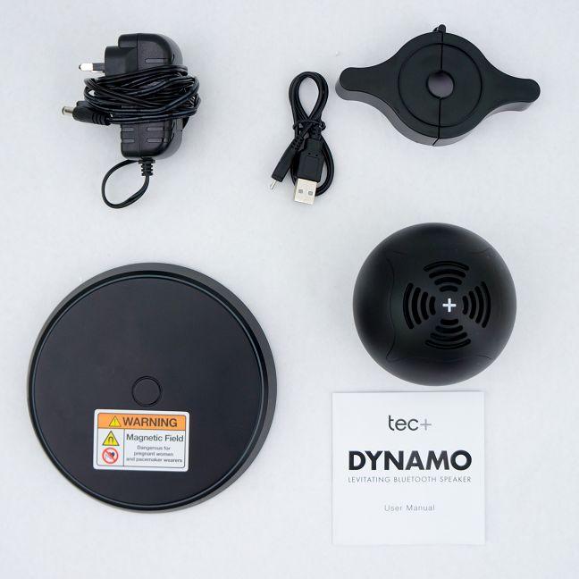 TecPlus, boxa, levitatie magnetica, Dynamo, Bluetooth, fara fir, review