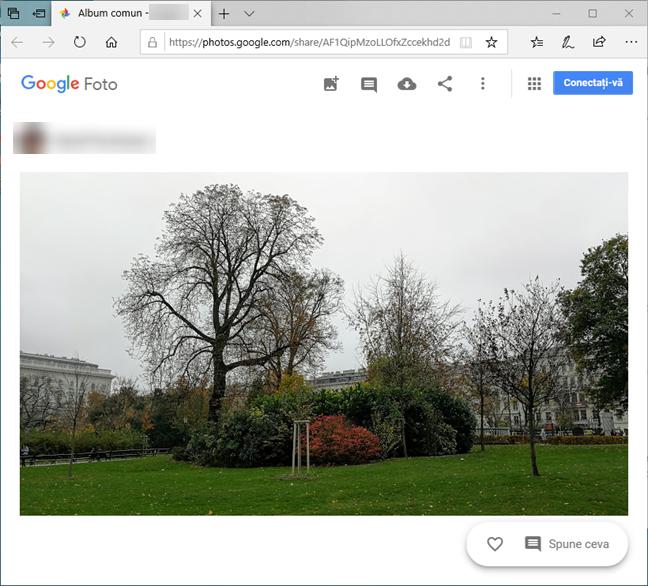 Poză deschisă automat în Windows 10 după trimiterea sa din Android