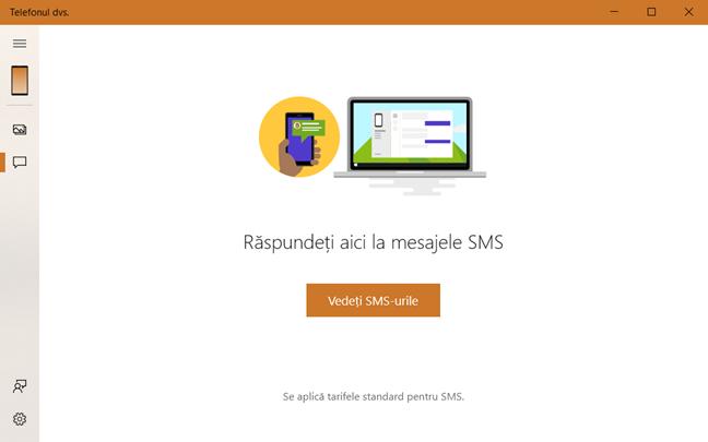 Vezi mesajele SMS din Android pe PC