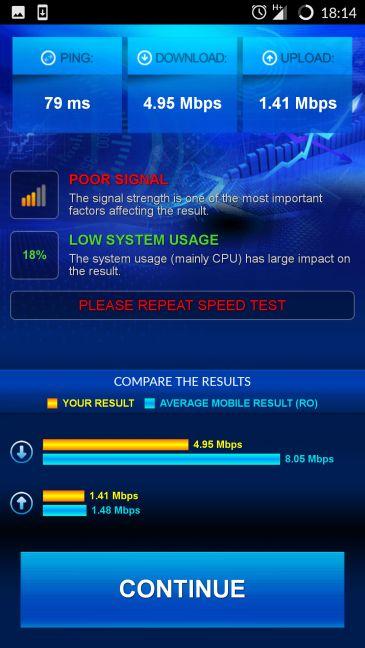 Android, testeaza, masoara, viteza, internet, mobil, smartphone, tableta