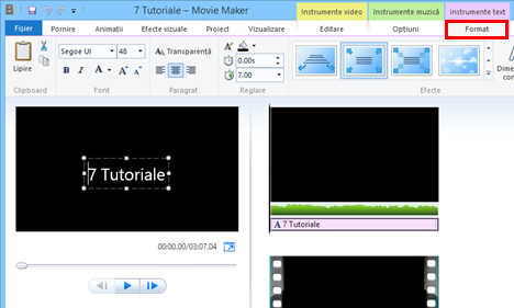 Windows, Movie Maker, filme, adauga, titluri, legende, generice