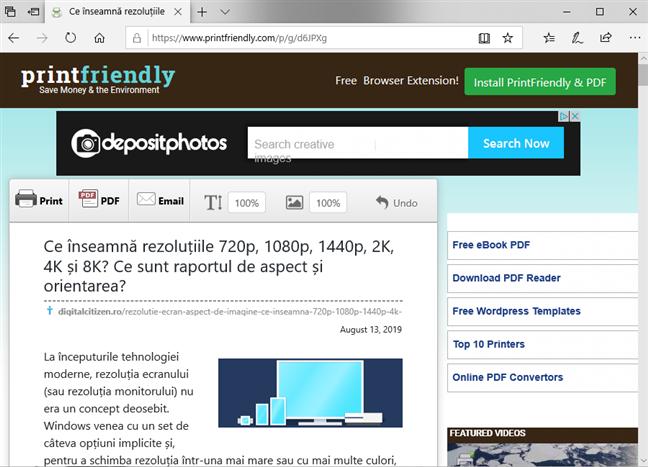 Previzualizarea generată de printfriendly.com