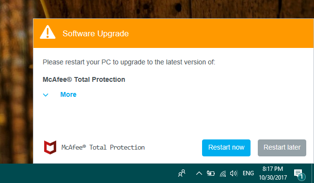 McAfee, Total Protection, LiveSafe