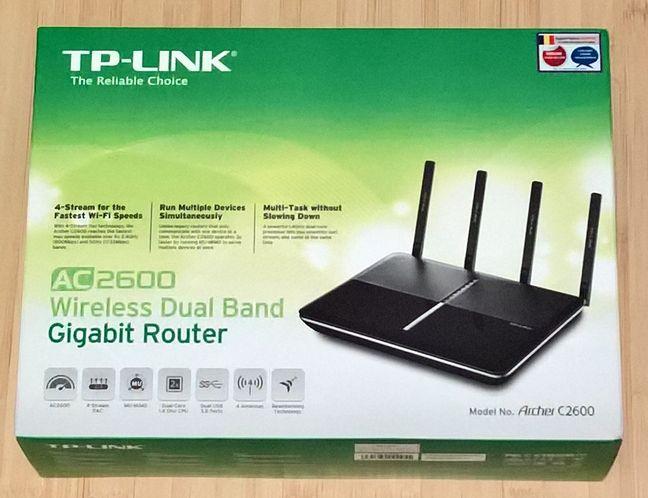 TP-LINK Archer C2600, wireless, router, dual-band, gigabit, performante