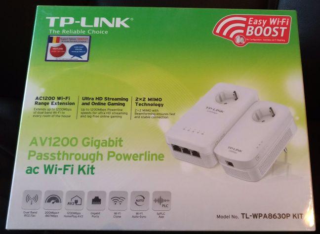 TP-LINK TL-WPA8630P, powerline, adaptor, prize, kit, WiFi