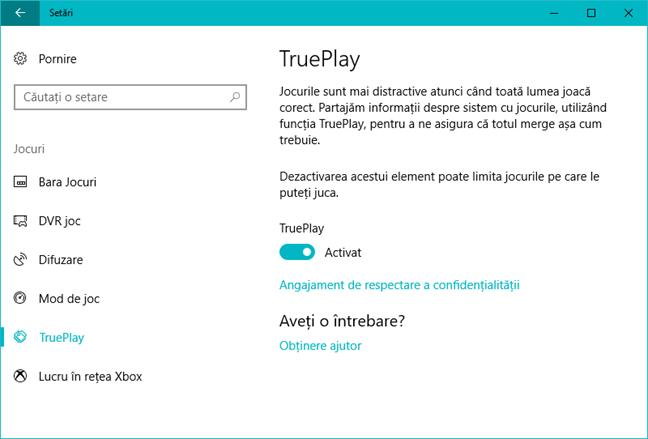 TruePlay, Windows 10, Xbox One