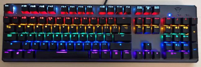 Tastatura mecanică Trust GXT 865 Asta
