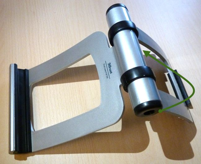 Trust, Universal Stand for Tablets, review, recenzie