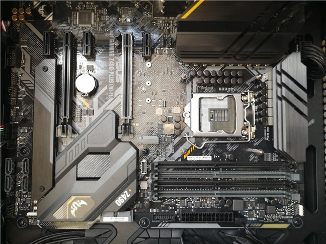 Placa de bază ASUS TUF GAMING Z490-PLUS (WI-FI)