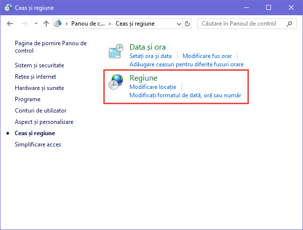 Windows, non-Unicode, Unicode, limba
