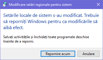 Windows, non-Unicode, Unicode, limba