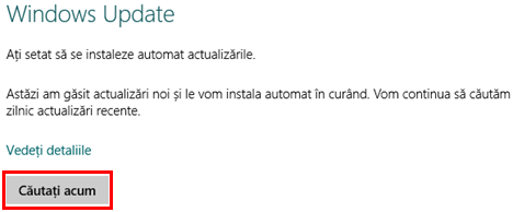 Windows Update, Setari PC, Windows 8.1, instaleaza, configureaza