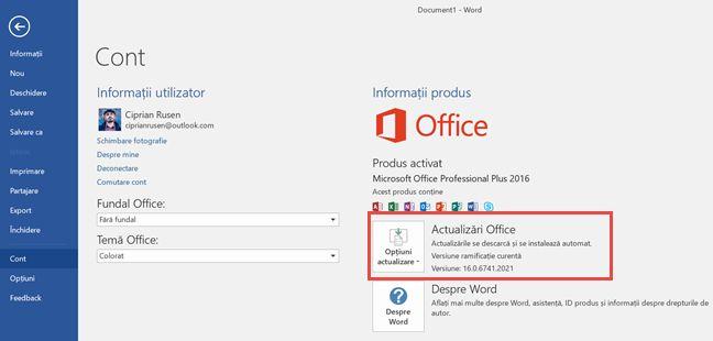 versiune, produs, aplicatie, program, Windows