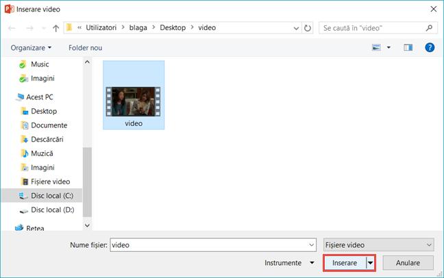Microsoft, PowerPoint, video