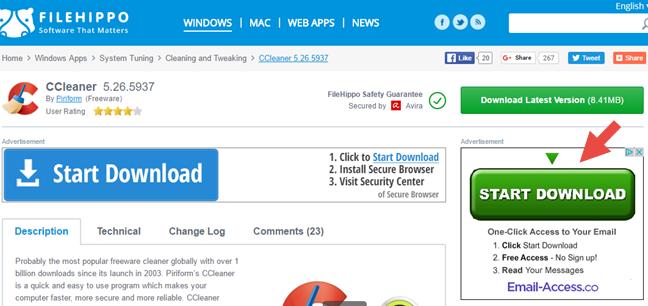 Windows, virusi, malware, internet