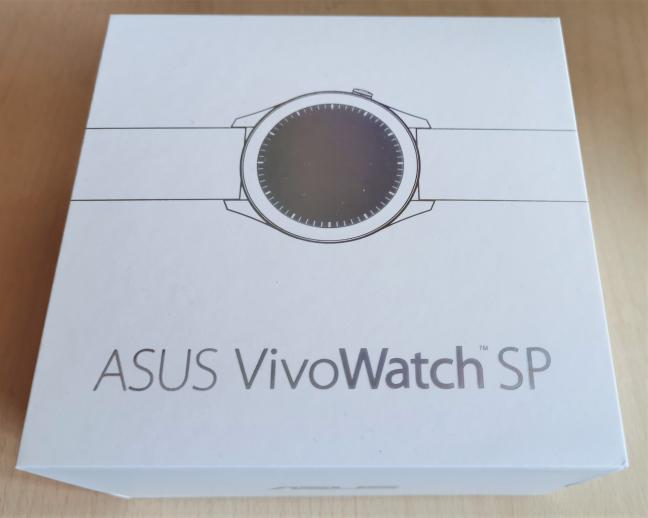 Cutia în care vine ASUS VivoWatch SP (HC-A05)