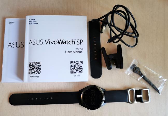 ASUS VivoWatch SP: Ce găsești în cutie