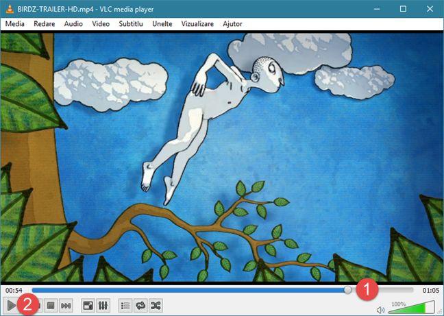 VLC media player, Windows, capturi, ecran, cadre, video, imagini