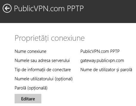 Windows 8.1, VPN