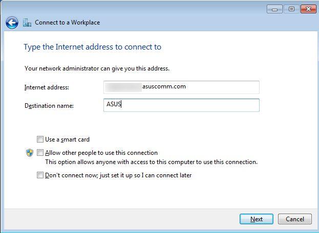 VPN, ASUS, conecteaza, client, router, serviciu