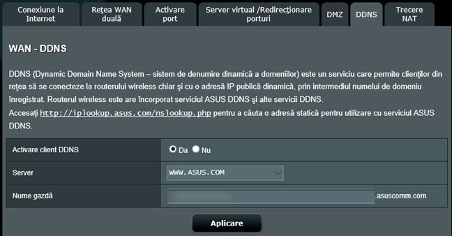 VPN, server, ASUS, router, wireless, porneste, configureaza