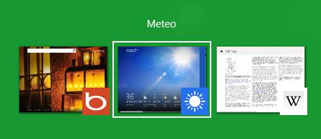 Lucrul cu aplicatii Windows 8
